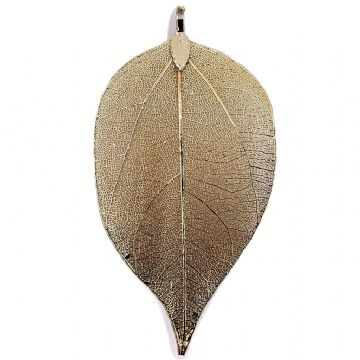 Gold Plated Classic Leaf
